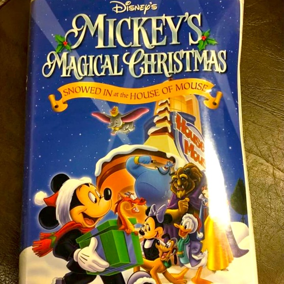 "VHS of ""Mickey's Magical Christmas"" by Disney"